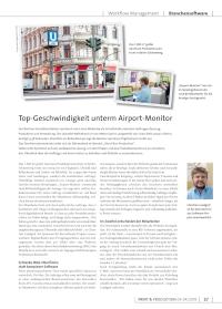 Titelblatt Sprintout Print Produktion